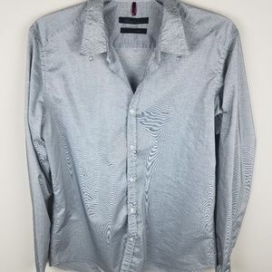 Kenneth Cole XL Button Down Gray Men's